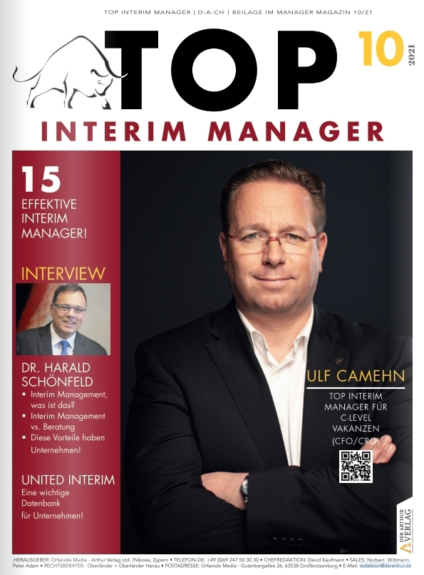 Top 10 Interim Manager - Beilage
